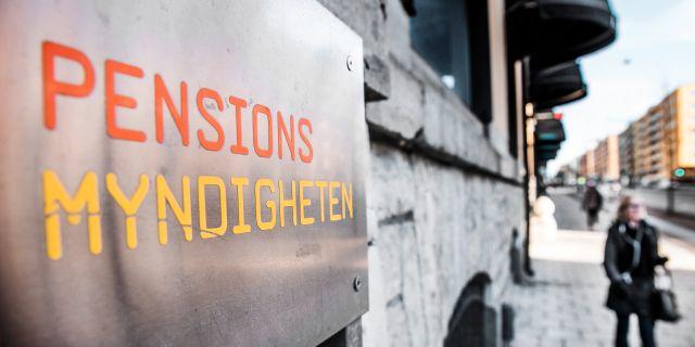Pensionsmyndigheten Tomas Oneborg/SvD/TT / TT NYHETSBYRÅN