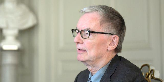 Svenska Akademiens ständige sekreterare Anders Olsson.  Janerik Henriksson/TT / TT NYHETSBYRÅN