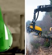 I skogsindustrin krävs att maskiner drivs på miljöolja, vilket ger ett utökat behov av att oljan kan hållas ren.