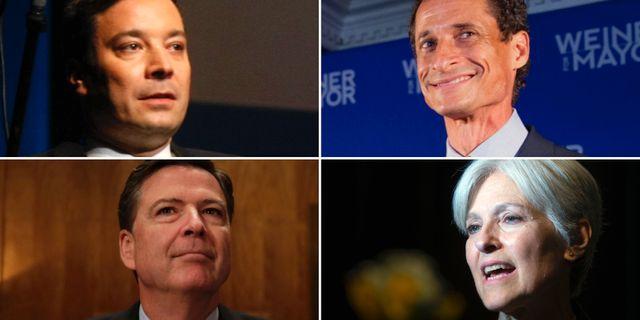 I en krönika i NY Times ger sig filmskaparen Ethan Coen på bland andra Jimmy Fallon, Anthony Weiner, James Comey och Jill Steins väljare. TT