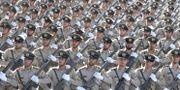 Bilden föreställer en annan parad i Iran. Ebrahim Noroozi / TT NYHETSBYRÅN/ NTB Scanpix