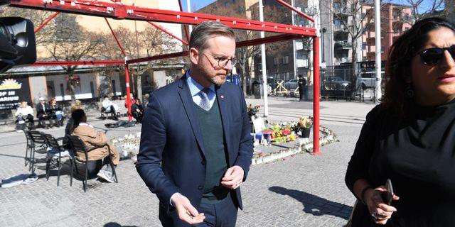 Inrikesminister Mikael Damberg (S). Fredrik Sandberg/TT / TT NYHETSBYRÅN