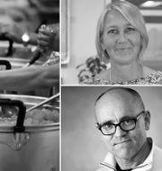 Ulrika Modéer och  John Hassler. Shutterstock & pressbilder
