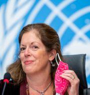 FN:s sändebud Stephanie Williams  Martial Trezzini / TT NYHETSBYRÅN
