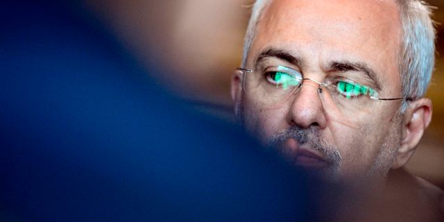 Irans utrikesminister Javad Zarif. ALEXANDER NEMENOV / AFP