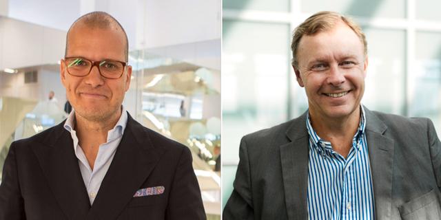 Joakim Bornold och Peter Malmqvist.
