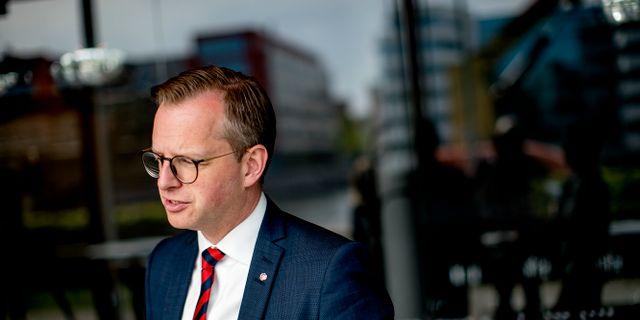 Mikael Damberg. Adam Ihse/TT / TT NYHETSBYRÅN
