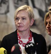 Anna Johansson (S). Björn Larsson Rosvall/TT / TT NYHETSBYRÅN