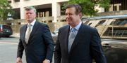 Paul Manafort till höger. Jose Luis Magana / TT NYHETSBYRÅN/ NTB Scanpix