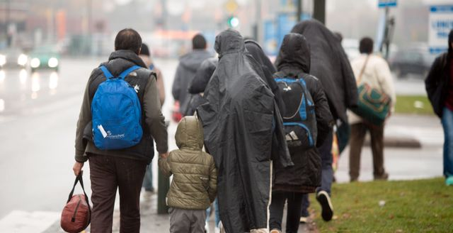 Flyktingar i Malmö 2015 Drago Prvulovic/TT / TT NYHETSBYRÅN