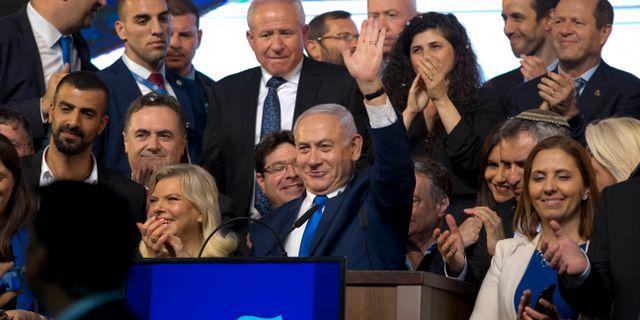 Benjamin Netanyahu. Ariel Schalit / TT NYHETSBYRÅN/ NTB Scanpix