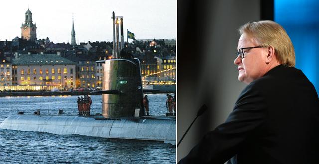 Försvarsminister Peter Hultqvist (S) TT