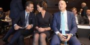 Ulf Kristersson/Anna Kinberg Batra/Fredrik Reinfeldt. Janerik Henriksson/TT / TT NYHETSBYRÅN