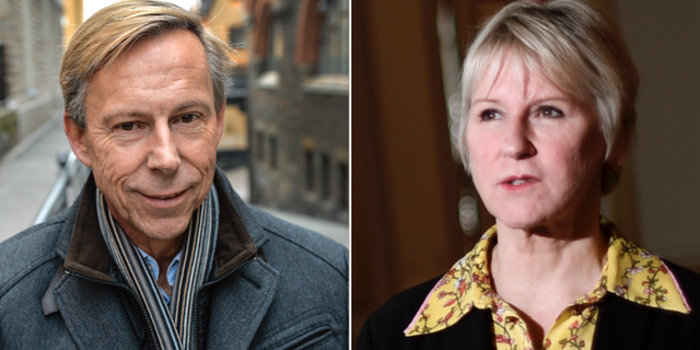 Anders Kompass, Margot Wallström. TT