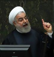 Hassan Rouhani. Vahid Salemi / TT NYHETSBYRÅN