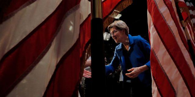 Elizabeth Warren. BRIAN SNYDER / TT NYHETSBYRÅN