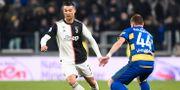 Ronaldo och Kulusevski MASSIMO PINCA / TT NYHETSBYRÅN