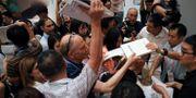 Reportrar i Peking. Illustrationsbild. Andy Wong / TT NYHETSBYRÅN