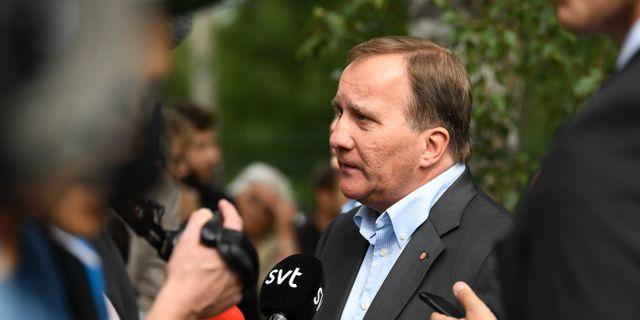 Statsminister Stefan Löfven.  Fredrik Sandberg/TT / TT NYHETSBYRÅN
