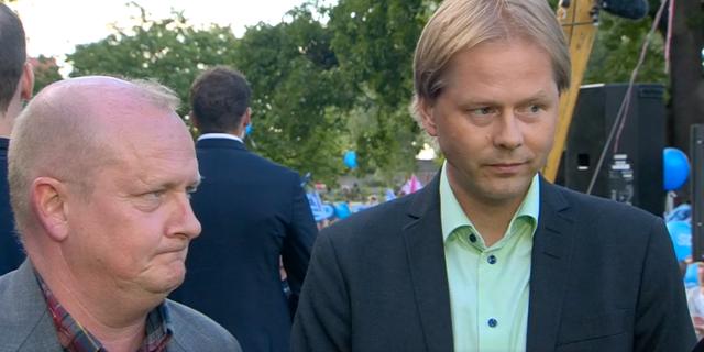 Dick Erixon och Anders Lindberg. SVT
