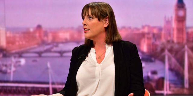 Jess Phillips. JEFF OVERS/BBC / TT NYHETSBYRÅN