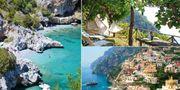 Bella Baia Glamping ligger på en klippvägg på Amalfikusten och har boende för 500 kronor per natt. amalficoastglamping.com / Istock