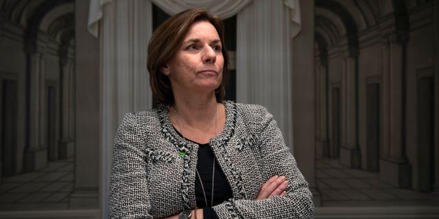 Isabella Lövin (MP) Henrik Montgomery/TT / TT NYHETSBYRÅN