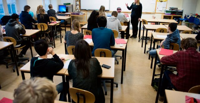 Antalet behöriga till gymnasiet ökar. JESSICA GOW / TT / TT NYHETSBYRÅN