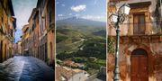 För så lite som tio kronor kan du få ett hus i staden Sambuca, som ser ut över vulkanen Etna. Pexels / Wikicommons