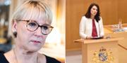 Margot Wallström och Ann Linde. TT