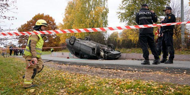 Bild från händelsen. Håkon Mosvold Larsen / TT NYHETSBYRÅN