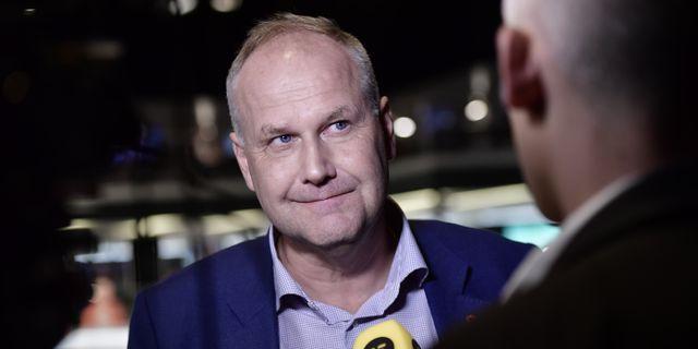 V-ledaren Jonas Sjöstedt. Stina Stjernkvist/TT / TT NYHETSBYRÅN