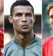 Mohamed Salah, Cristiano Ronaldo, Luka Modric. TT
