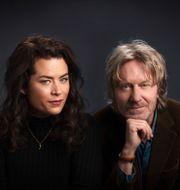 Liv Strömquist och Bengt Ohlsson. Mattias Ahlm / Sveriges Radio