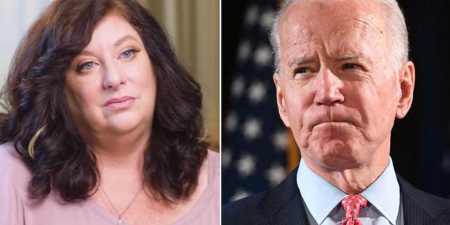 Tara Reade i intervju med Megyn Kelly och Joe Biden.