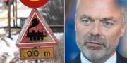 Tågövergång/Jan Björklund TT NYHETSBYRÅN