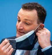 Tysklands hälso- och sjukvårdsminister Jens Spahn. Michael Kappeler / TT NYHETSBYRÅN
