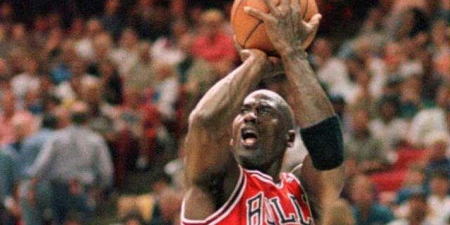Michael Jordan. TONY RANZE / TT NYHETSBYRÅN