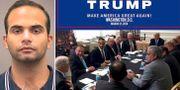 George Papadopoulos/Bild från mötet den 31 mars 2016 som Trump lade upp i sociala medier.   TT