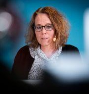 Maria Landgren, läkemedelschef och vaccinsamordnare.  Johan Nilsson/TT / TT NYHETSBYRÅN