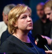 Karin Karlsbro.  Fredrik Sandberg/TT / TT NYHETSBYRÅN