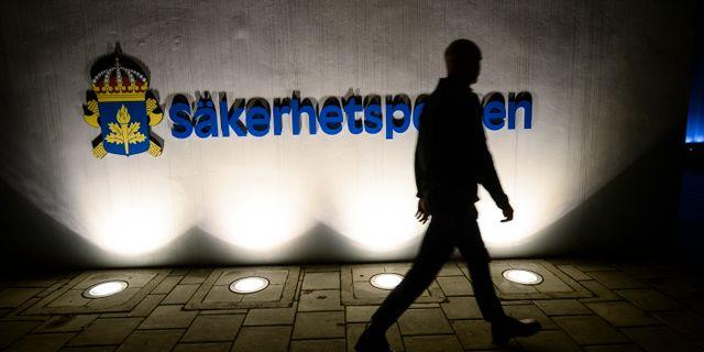 Mannen utreddes av Säpo. Fredrik Sandberg/TT / TT NYHETSBYRÅN