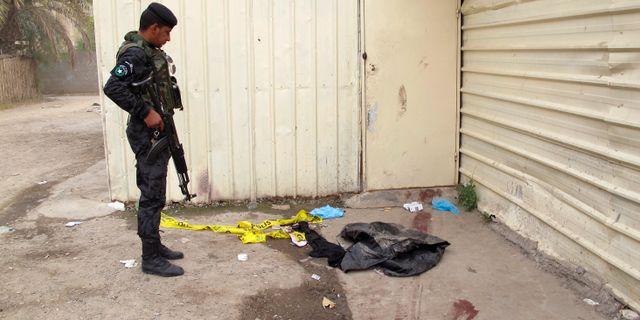 Fem poliser dodade i bagdad