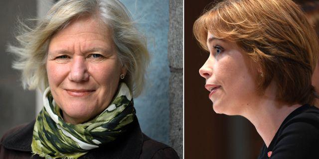 Ann-Marie Begler/Annika Strandhäll. Arkivbilder. TT