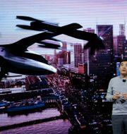 Jaiwon Shin är chef för Urban Air Mobility på Hyundai. John Locher / TT NYHETSBYRÅN