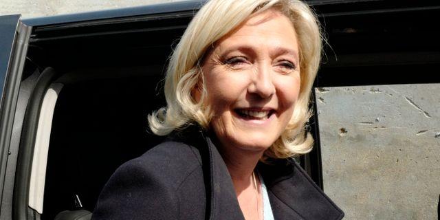 Marine Le Pen. Arkivbild. Michel Spingler / TT NYHETSBYRÅN