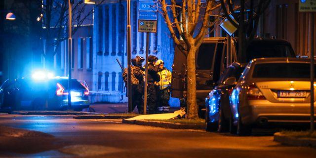 Ett misstänkt föremål hittades i veckan i Brämaregården på Hisingen. Adam Ihse/TT / TT NYHETSBYRÅN