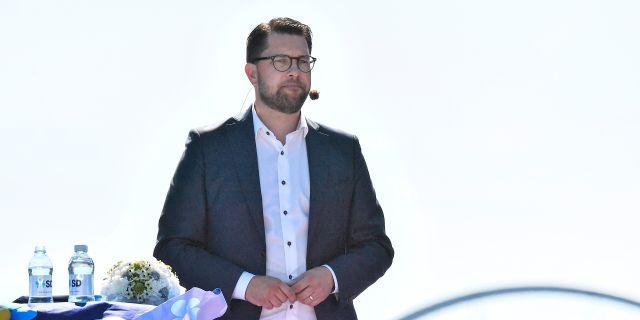 SD-ledaren Jimmie Åkesson Johan Nilsson/TT / TT NYHETSBYRÅN