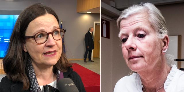 Anna Ekström och Kristina Axén Olin TT