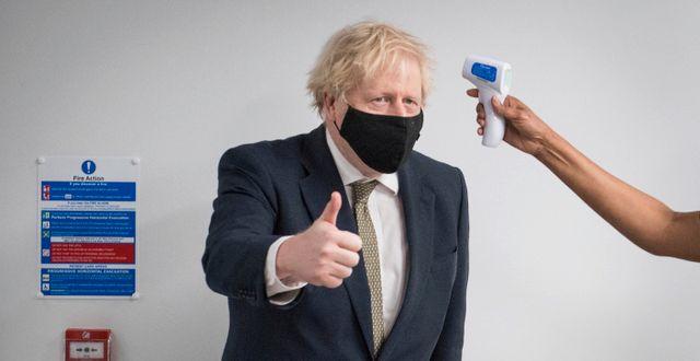 Boris Johnson. Stefan Rousseau / TT NYHETSBYRÅN